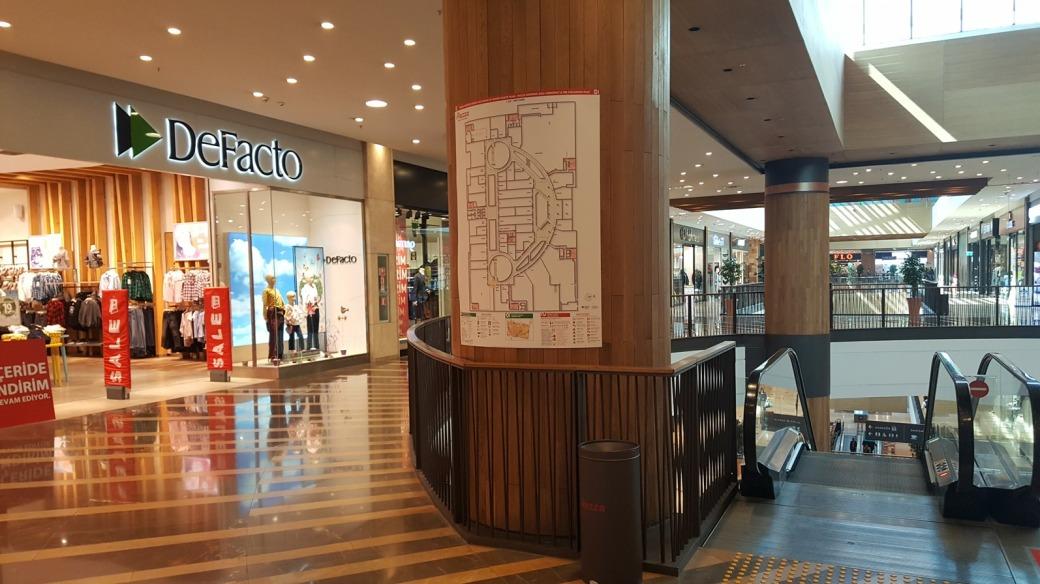 Kahramanmaraş Piazza AVM Acil Durum Tahliye ve Yangın Tahliye Planı