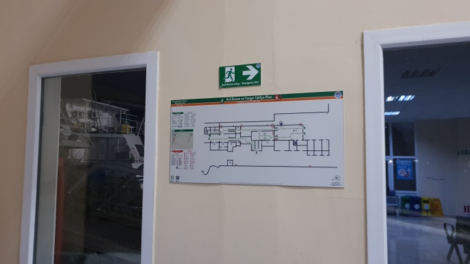 ISO 23601 Acil Durum Tahliye ve Yangın Tahliye Plan Örnekleri