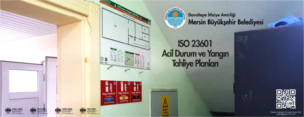 Davultepe İtfaiye Amirliği Mersin Büyükşehir Belediyesi ISO 23601