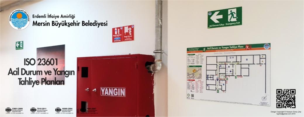 Erdemli İtfaiye Amirliği Mersin Büyükşehir Belediyesi ISO 23601