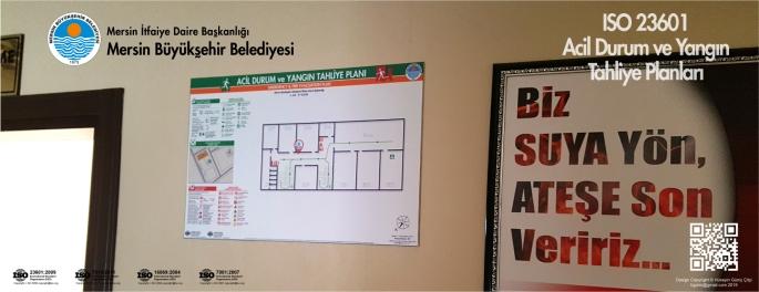 Mersin İtfaiye Amirliği Mersin Büyükşehir Belediyesi ISO 23601