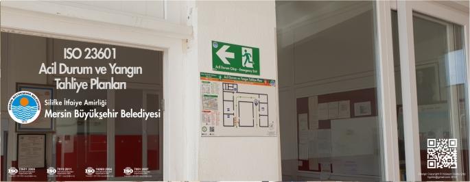 Silifke İtfaiye Amirliği Mersin Büyükşehir Belediyesi ISO 23601