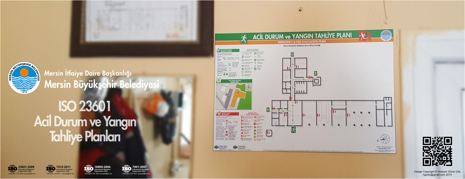 tarsus İtfaiye Amirliği Mersin Büyükşehir Belediyesi ISO 23601