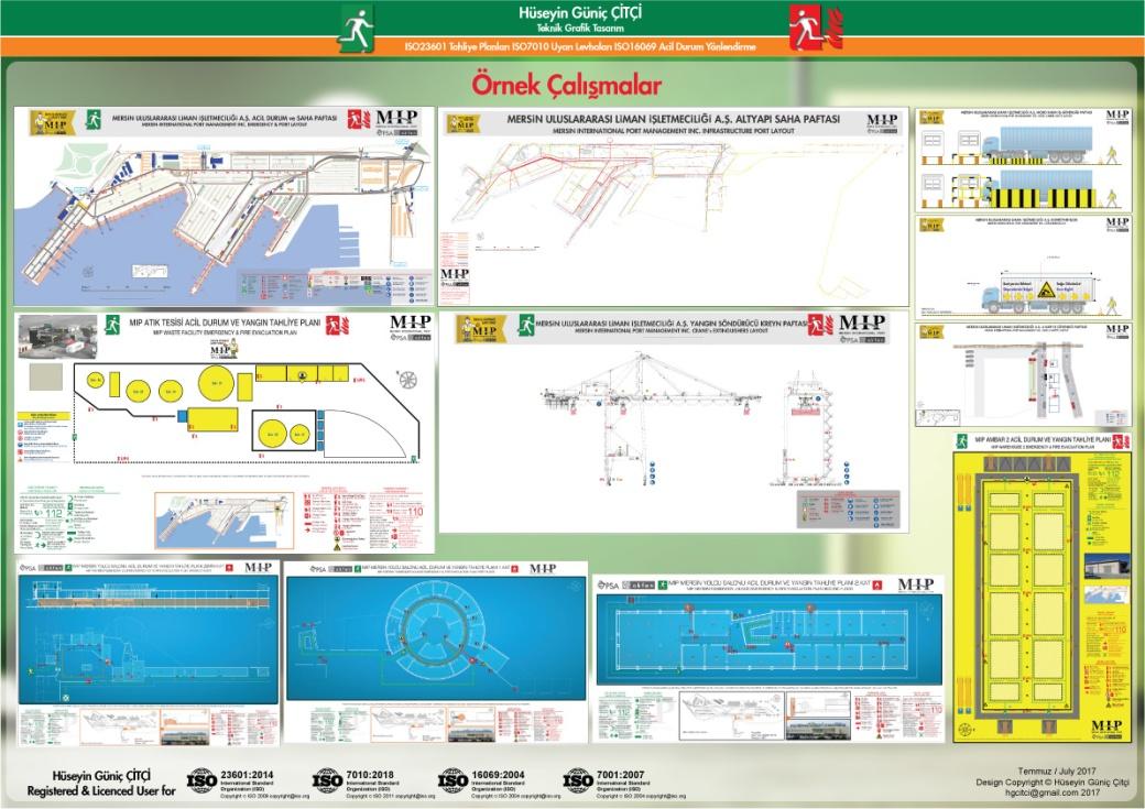 ISO 23601 Acil Durum ve Yangın Tahliye Planı