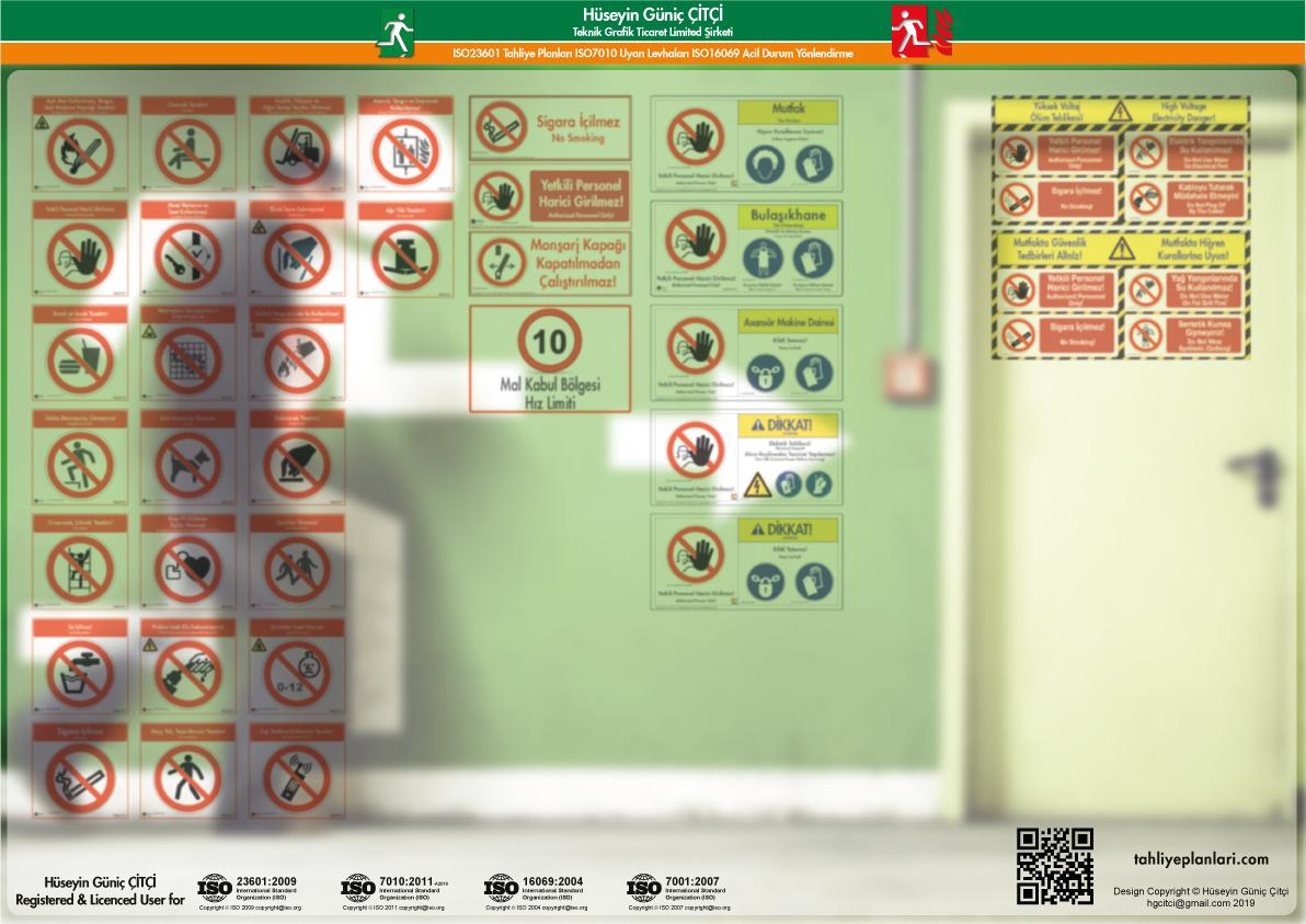 ISO 7010 Uyarı Levhaları_prohibition
