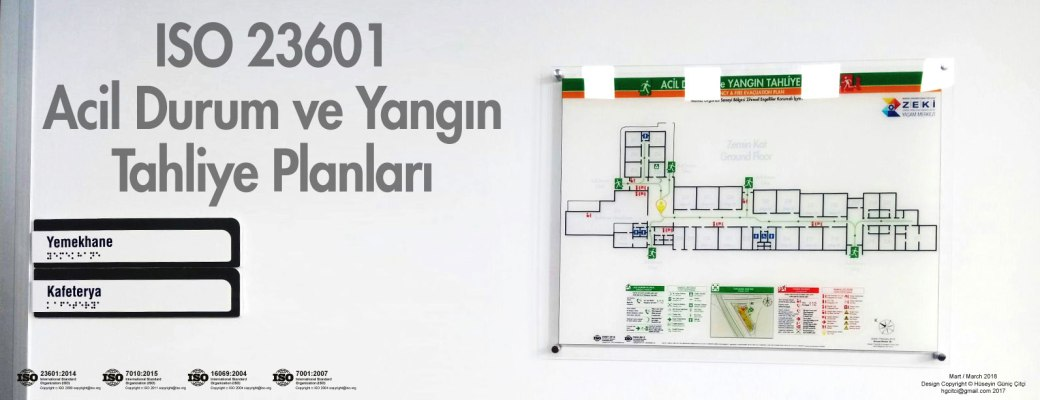 manisa-osb-zeki ISO 23601 Acil Durum ve Yangın Tahliye Kat Planları
