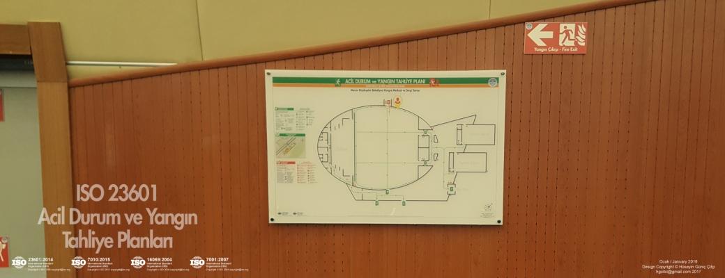 MBSB 01 002-ISO 23601 Acil Durum ve Yangın Tahliye Kat Planları