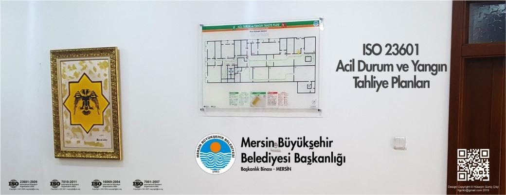 MBSB ISO 23601 Acil Durum ve Yangın Tahliye Kat Planları