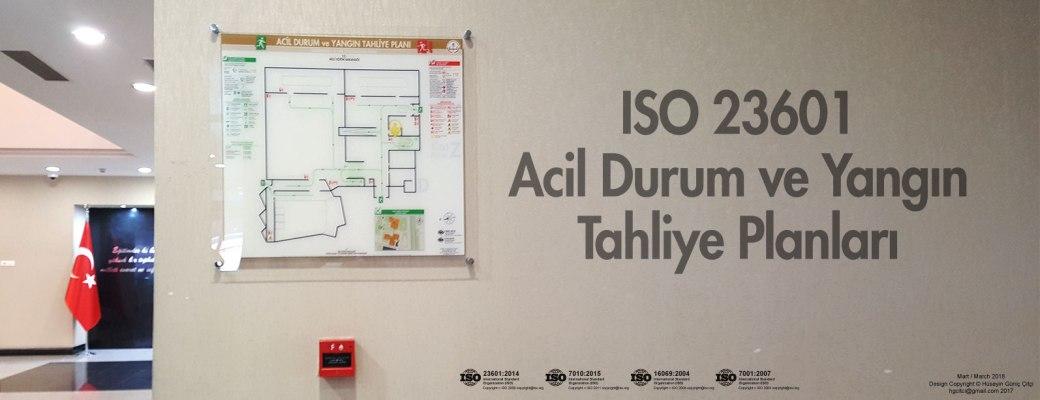 meb-005-ISO 23601 Acil Durum ve Yangın Tahliye Kat Planları
